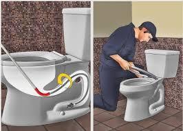 رفع گرفتگی توالت فرنگی