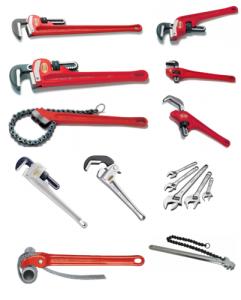 ابزار مورد نیاز برای لوله کشی فاضلاب و تعمیر لوله های فاضلاب
